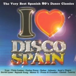 VÁLOGATÁS - I Love Disco Spain vol.2 CD
