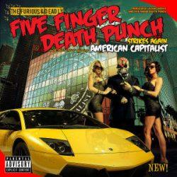FIVE FINGERS DEATH PUNCH - American Capitalist / vinyl bakelit / LP