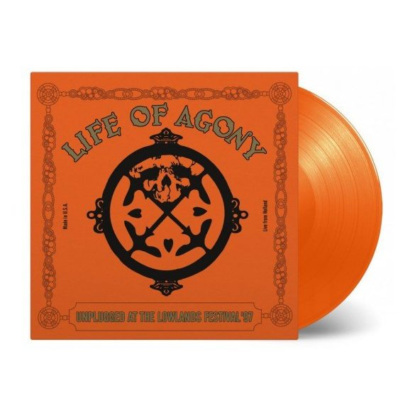 LIFE OF AGONY - Unplugged At Lowlands / vinyl bakelit / LP