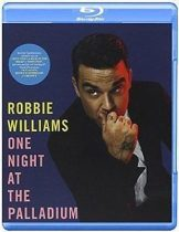 ROBBIE WILLIAMS - One Night At The Palladium / blu-ray / BRD