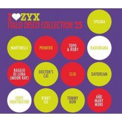 VÁLOGATÁS - I Love ZYX Italo Disco Collection vol.25. / 3cd / CD