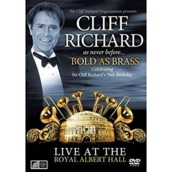 CLIFF RICHARD - Bold As Brass Live At The Albert Hall DVD