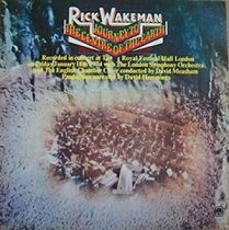 RICK WAKEMAN - Journey The Centre Of The Earth  / vinyl bakelit / LP