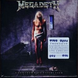 MEGADETH - Countdown To Extinction / 20th Anniversary Edition / 2xCD