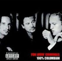 FUN LOVIN' CRIMINALS - 100% Columbian  / limitált színes vinyl bakelit / LP