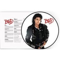 MICHAEL JACKSON - Bad / 2018 re-release picture vinyl bakelit / LP