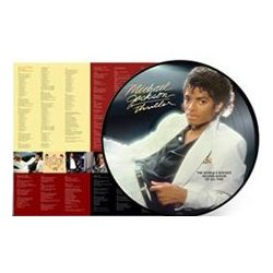 MICHAEL JACKSON - Thriller / 2018 re-release picture vinyl bakelit / LP