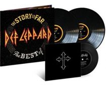 "DEF LEPPARD - Story So Far Best Of / vinyl bakelit / 2xLP +7"" single"