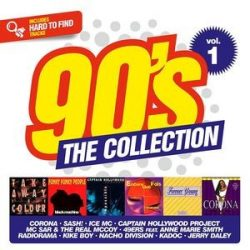 VÁLOGATÁS - 90's The Collection vol.1 / 2cd / CD