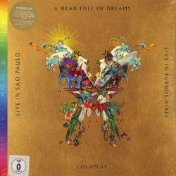 COLDPLAY - Live In Buenos Aires A Head Full Of Dreams Live / vinyl bakelit LP box 3xLP +2dvd / LP box