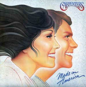 CARPENTERS - Made In America / vinyl bakelit / LP