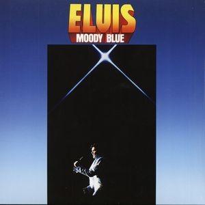 ELVIS PRESLEY - Moody Blue / színes vinyl bakelit / LP