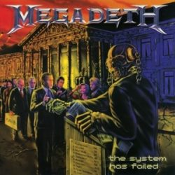 MEGADETH - System Has Failed / vinyl bakelit / LP