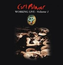 CARL PALMER - Working Live vol.1 / vinyl bakelit / LP