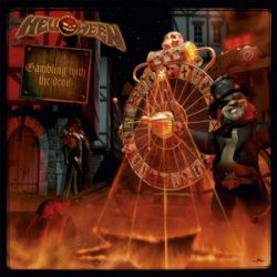 HELLOWEEN - Gambling With The Devil / limitált clear vinyl bakelit / 2xLP
