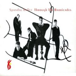 SPANDAU BALLET - Trough The Barricades / vinyl bakelit / LP
