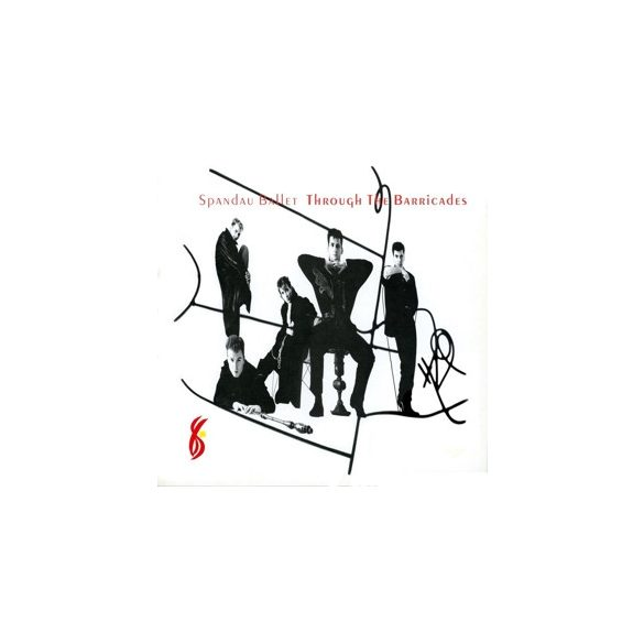 SPANDAU BALLET - Trough The Barricades / vinyl bakelit / LP
