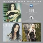 CHER - 3in1 Triple Album Collection / 3cd It's Man's World, Believe, Living Proof / CD