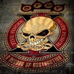 FIVE FINGER DEATH PUNCH - A Decade Of Destruction / színes vinyl bakelit / 2xLP
