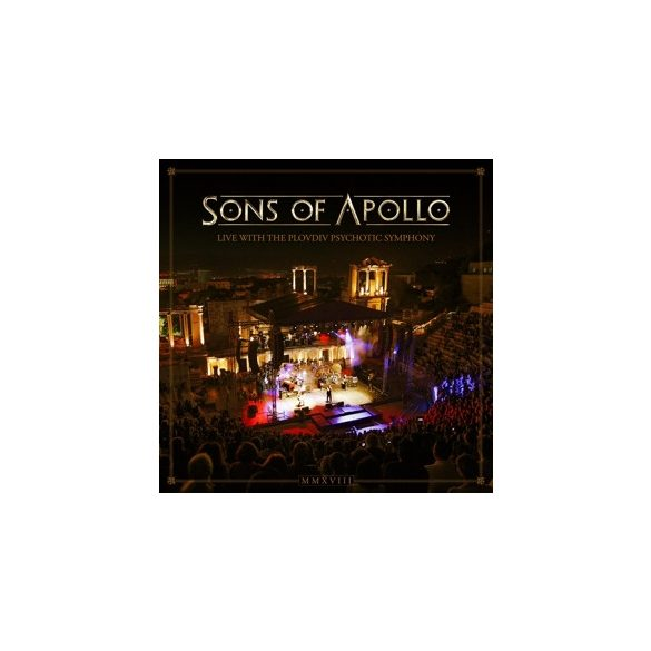 SONS OF APOLLO - Live With The Plovdiv Psychotic Symphony / 3cd+dvd / CD