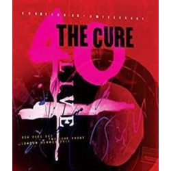 CURE - 40 Live Curaetion 25th Anniversary / hardbook blu-ray / 2xBRD