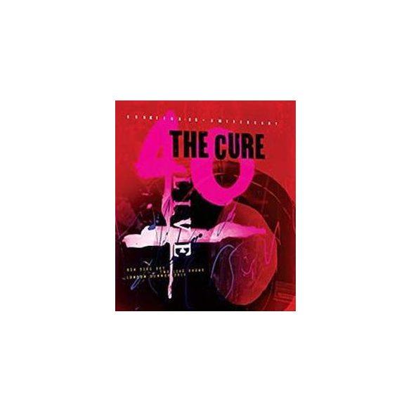 CURE - 40 Live Curaetion 25th Anniversary / hardbook blu-ray / 2xBRD