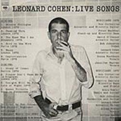 LEONARD COHEN - Live Songs / vinyl bakelit / LP