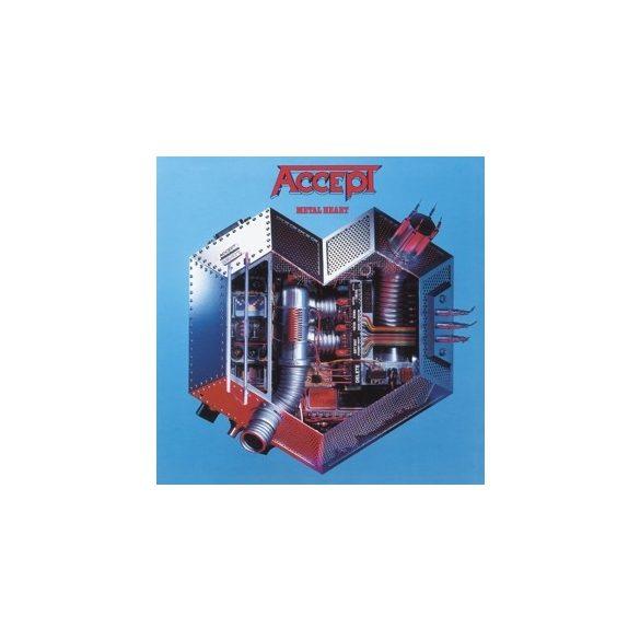 ACCEPT - Metal Heart / limitált színes vinyl bakelit / LP