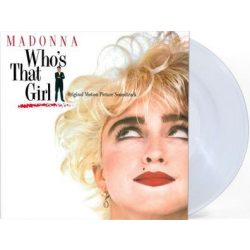 MADONNA - Who's That Girl / limitált clear  vinyl bakelit / LP