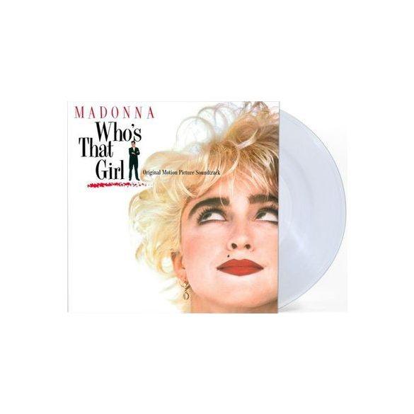 MADONNA - Who's That Girl / limitált clear  vinyl bakelit / LP