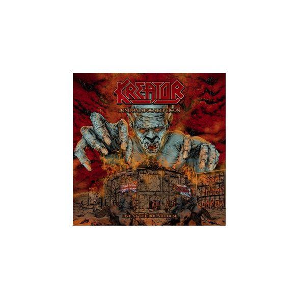 KREATOR - London Apocalypticon - Live At the Roundhouse /vinyl bakelit/ 2xLP