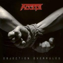 ACCEPT - Objection Overruled / limitált színes vinyl bakelit / LP
