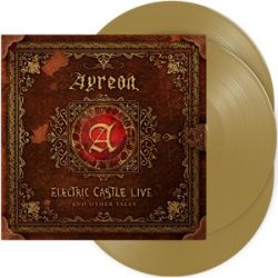 AYREON - Electric Castle Live And Other Tales / limitált színes vinyl bakelit / 3xLP