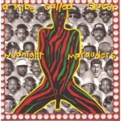 A TRIBE CALLED QUEST - Midnight Marauders / vinyl bakelit / LP