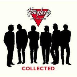 HUEY LEWIS & THE NEWS - Collected  / limitált színes vinyl bakelit / 2xLP