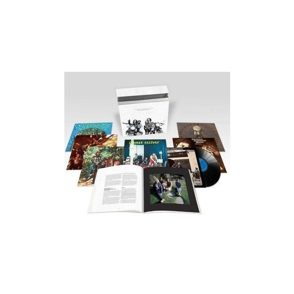 CREEDENCE CLEARWATER REVIVAL - Halfspeed Master Vinyl box / vinyl bakelit / LP box