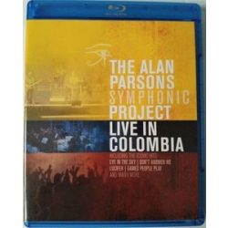 ALAN PARSONS SYMPHONIC PROJECT - Live In Columbia / blu-ray / BRD