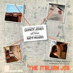 QUINCY JONES - Italian Job / vinyl bakelit / LP