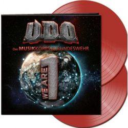 U.D.O. - We Are 1 / limitált red vinyl bakelit / 2xLP