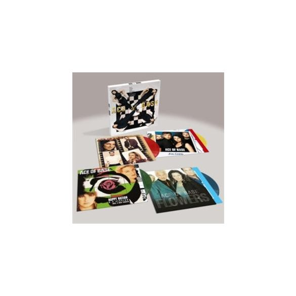 ACE OF BASE - All That She Wants /limitált színes vinyl bakelit/LP Box