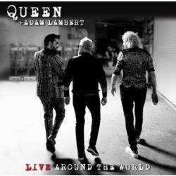 QUEEN & ADAM LAMBERT-  Live Around the World  CD