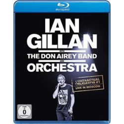 IAN GILLAN - Live In Moscow With Don Airey Band And Orchestra / blu-ray / BRD