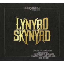 LYNYRD SKYNYRD - Live In Atlantic City / cd+blu-ray / CD