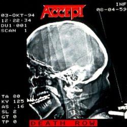 ACCEPT - Death Row / vinyl bakelit / 2xLP