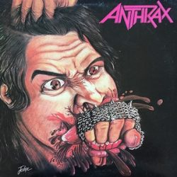 ANTHRAX - Fistful Of Metal / vinyl bakelit / LP