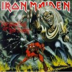 IRON MAIDEN - Number Of The Beast / vinyl bakelit / LP