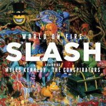 SLASH - World On Fire / vinyl bakelit / LP