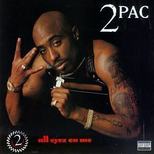 2 PAC - All Eyes On Me / vinyl bakelit / 4xLP