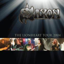 SAXON - Lionheart Tour 2004 / vinyl bakelit / 2xLP